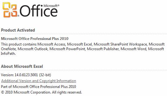 Powerpivot addin won t load you may need visual studio 2010 tools for office runtime - Visual studio 2010 tools for office runtime ...